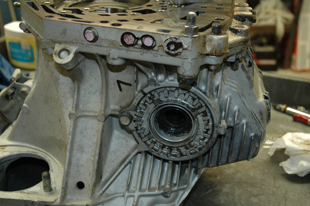 front differential setup how to and re-rebuild of genuine